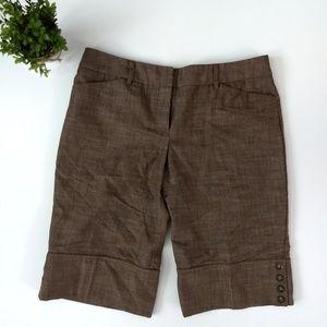 BCX dressy bermuda shorts, Size 13